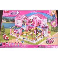 Sluban Girls Dream Constructor Villa