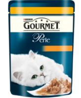 Gourmet Perle с телятеной и курицой 85 gr