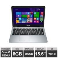 """Ноутбук Asus X555L (15,6"""" i5 5200U 8GB RAM 500GB HDGraphics Win8) Black"""