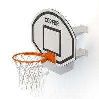 Кронштейн с баскетбольным щитом, кольцом и сеткой РТР 713