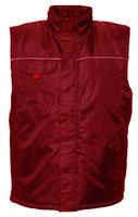 Теплый непромокаемый жилет BE-04-002 - красный