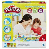 Play-Doh пластилин Цифры и числа