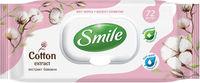 Влажные салфетки Smile Cotton 72 шт