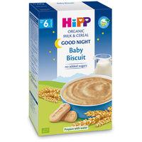 Terci organic Hipp cu biscuiți și lapte
