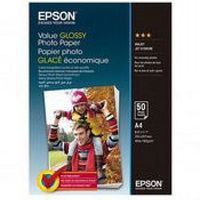 Epson Value Glossy Photo Paper, A4 183g 50p