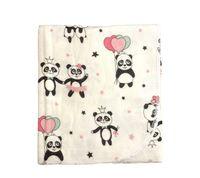 Пеленка байковая HB (100x80 cm) Panda