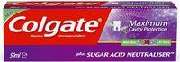 Colgate Junior детская зубная паста 6+. Mild Mint, 50мл