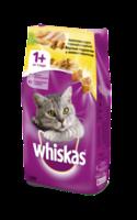 Whiskas подушечки курочка,индейка,1.9кг