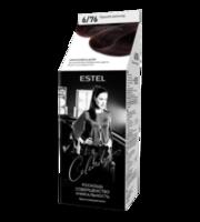Vopsea p/u par, ESTEL Celebrity, 125 ml., 6/76 - Ciocolată amară