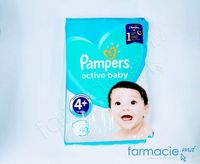 Scutece PAMPERS Active Baby 4 +Maxi N40 (10-15kg)