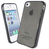 Чехол Silicon case for Iphone 4/4S Grey