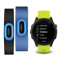 Фитнес-трекер Garmin Forerunner 935 Black & Grey Tri-Bundle