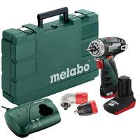 Аккумуляторный шуруповерт Metabo PowerMaxx BS Quick Pro
