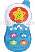 """Bbay Mix  PL-419749 Музыкальная игрушка """"Телефон"""" голубой"""