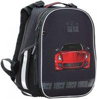 """Ghiozdan pentru școală """"Red Car"""" CLASS I negru"""