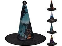 Шляпа ведьмы 4 дизайна 38X35cm,текстиль