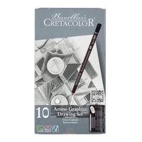Set de desen de bază  Artino Graphite, 10 articole, Cretacolor
