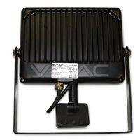 Прожектор LED V-Tac с датчиком — 50W Black/Grey Body SMD 3000K VT-4850