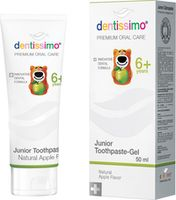 Аксессуар для зубных щеток Dentissimo Junior Apple aroma, 50ml pasta de dinti