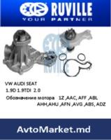 VW Водяной насос ПОМПА 1.9D 1.9TDI