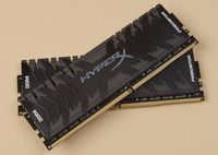16GB (Kit of 2*8GB) DDR4-3000  Kingston HyperX® Predator DDR4 (Dual Channel Kit), PC24000, CL15, 1.35V