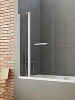 New Trendy Bathtub New Soleo P-0026 Screen Hinged 100x140 (04468)