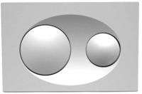BUTON PENTRU WC Bocchi Chrome Mat 8200-0010