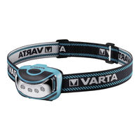 Фонарь налобный Varta LED Outdoor Sports Head 3AAA, 16630101421
