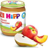 Hipp пюре персик 4+мес. 125г