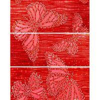 Keros Ceramica Декор Mariposa Red 75x70см 3шт