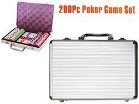 Игра покер в чемодане 200ед 30X20X6cm