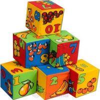 Набор кубиков Математика, 6шт