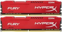 16GB (Kit of 2*8GB) DDR4-2666  Kingston HyperX® FURY DDR4, PC21300, CL16, 1.2V