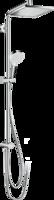Crometta E Showerpipe 240 1jet EcoSmart 9 l/min Reno