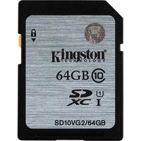 Kingston 64GB SDXC Class10 UHS-I