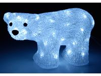 """cumpără Figurina cu lumina """"Urs Alb"""" 30X18сm, 50LED, 8 regimuri în Chișinău"""