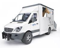 Bruder MB Sprinter animal transporter (02533)