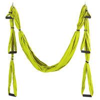 Hamac yoga cu manere 220x150 cm, nylon FI-5323 (5115)