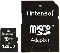 Сard de memorie Intenso MicroSD 128Gb + SD Adapter UHS-I Premium