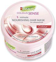 Маска для окрашенных волос, SOLVEX MMBeauty Colour Sense Vital, 490 мл., 1-минутная, питательная, масло жожоба и витамин Е
