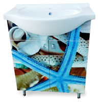 Aquaplus Bath Blue Sea Star 65cm