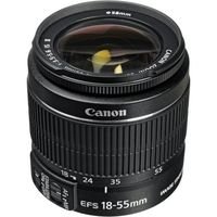 Canon EF-S 18-55mm f/3.5-5.6 IS II, Zoom Lenses