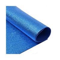 Foamiran cu sclipici Culoare: albastru, A4