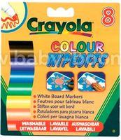 Crayola 8223 Фломастеры для письма на доске (8 шт.)