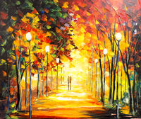 Oil Paintings La promenade (CIT15000954)