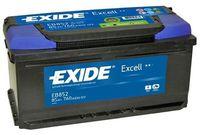**АКБ Exide  EXCELL 12V  85Ah  760EN  352x175x175 -/+, EB852