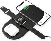 Зарядное устройство беспроводное Baseus Smart 3 in1 Wireless Charger