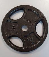 Диск металлический 5 кг d=30 мм (5701)