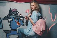 """Женский рюкзак """" Дели """" (Сarnation pink)"""