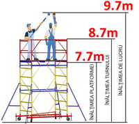 купить Передвижная модульная вышка ВСР (1,2x2,0) 1+6 в Кишинёве